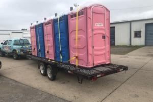 Porta Potty Delivery