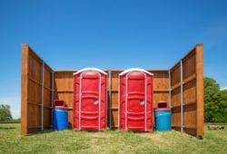 porta potties in Muskogee