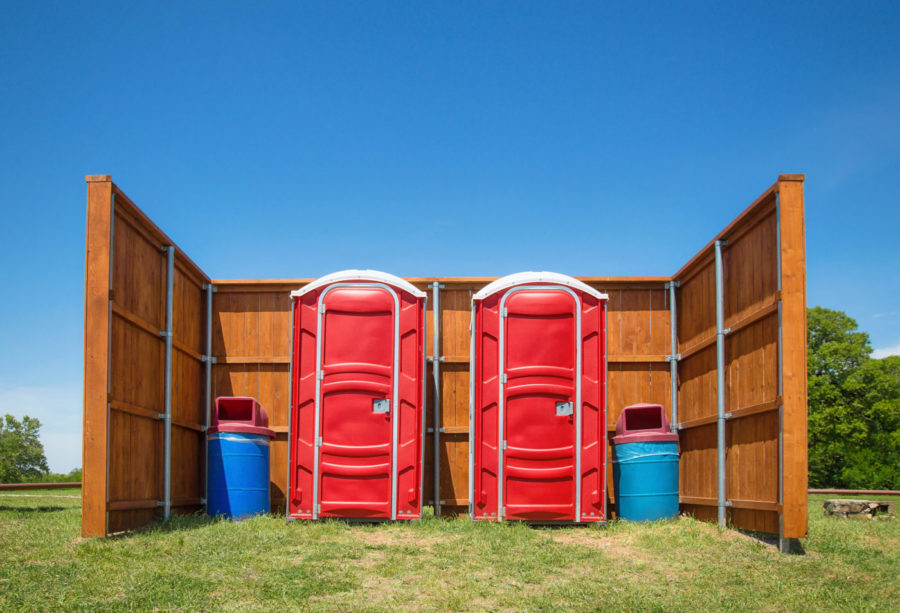 porta potties in Muskogee