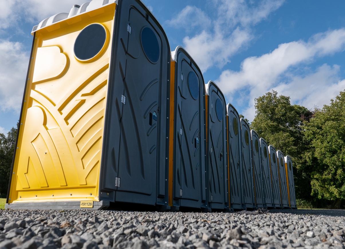 portable toilet supplier in Bixby