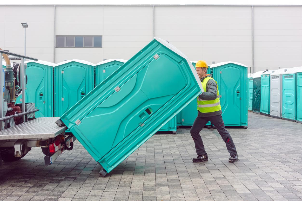 portable restroom rentals in Muskogee