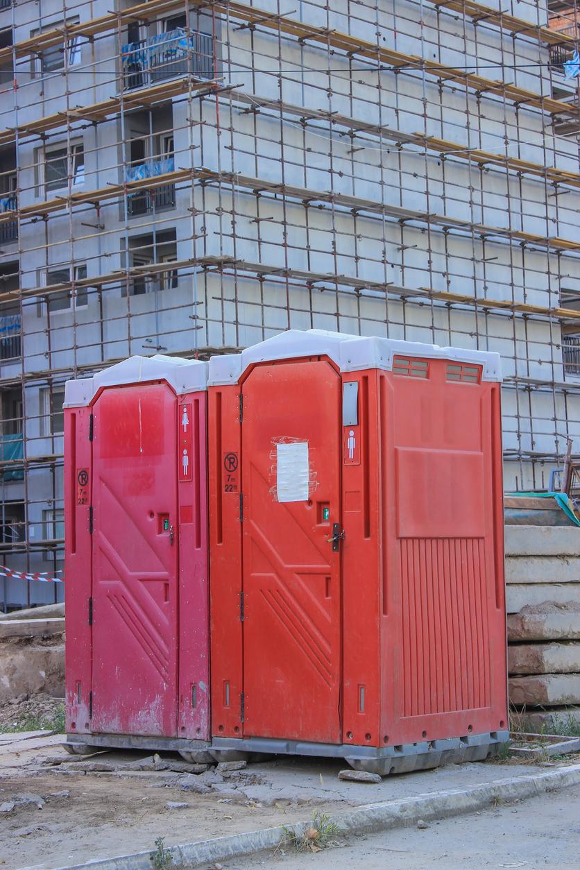 Construction Site Restroom Rental Tahlequah